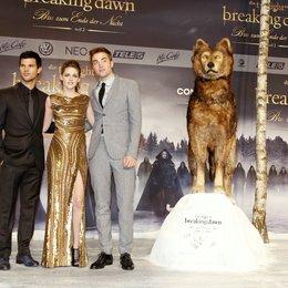 """Filmpremiere """"Breaking Dawn - Biss zum Ende der Nacht, Teil 2"""" in Berlin / Taylor Lautner / Kristen Stewart / Robert Pattinson Poster"""