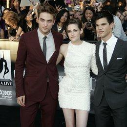 """Pattinson, Robert / Stewart, Kristen / Lautner, Taylor / Premiere von """"The Twilight Saga: Eclipse"""", Los Angeles Poster"""