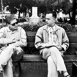 Zemeckis, Robert / Tom Hanks / Set (Forrest Gump)