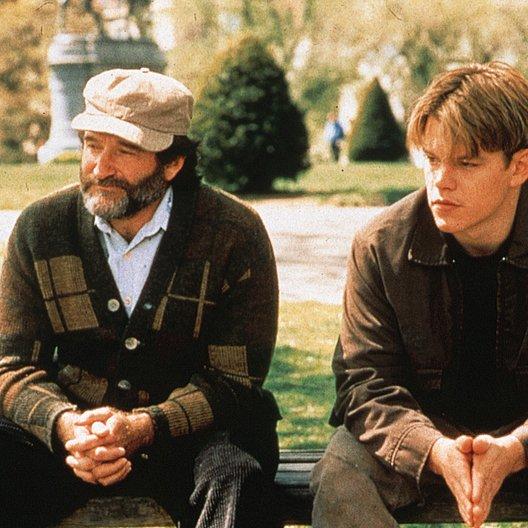 Good Will Hunting / Robin Williams / Matt Damon Poster