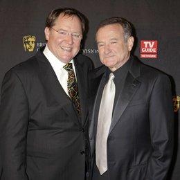 John Lasseter / Robin Williams / Bafta Awards 2011 Poster
