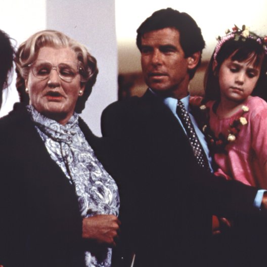Mrs. Doubtfire - Das stachelige Kindermädchen / Robin Williams / Pierce Brosnan / Mara Wilson / Sally Field Poster