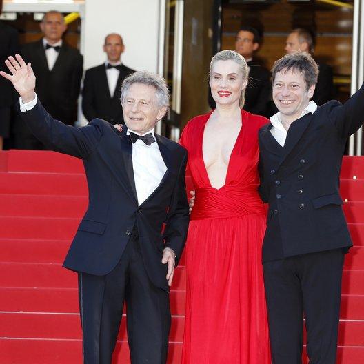 Polanski, Roman / Seigner, Emmanuelle / Amalric, Mathieu / 66. Internationale Filmfestspiele von Cannes 2013