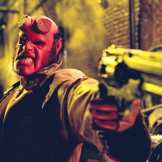 Hellboy / Ron Perlman Poster