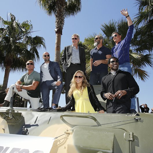 Expendables Team / 67. Internationale Filmfestspiele Cannes 2014 / Arnold Schwarzenegger / Jason Statham Harrison Ford / Mel Gibson / Sylvester Stallone / Ronda Rousey / Wesley Snipes Poster