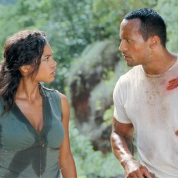 """Welcome to the Jungle / Rosario Dawson / Dwayne """"The Rock"""" Johnson Poster"""