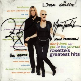 Roxette: Don't Bore Us - Get To The Chorus Poster