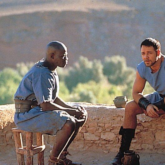Gladiator / Russell Crowe / Djimon Hounsou