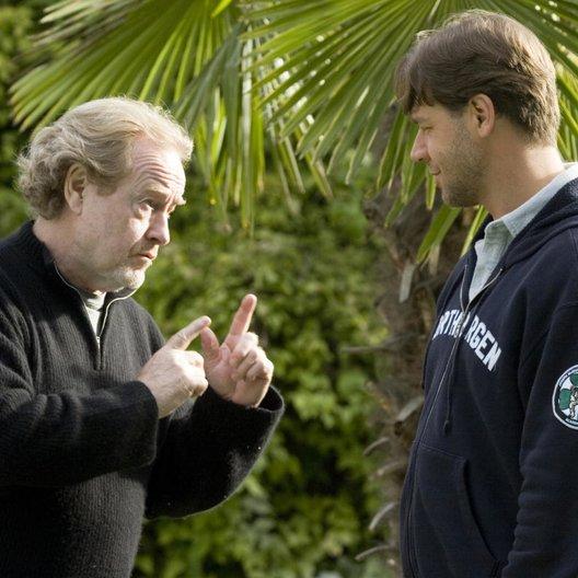 gutes Jahr, Ein / Set / Ridley Scott / Russell Crowe