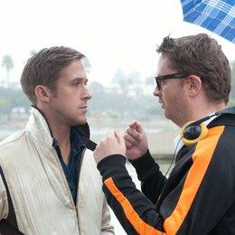 Drive / Set / Ryan Gosling / Nicolas Winding Refn Poster
