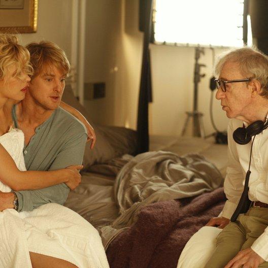 Midnight in Paris / Set / Rachel McAdams / Owen Wilson / Woody Allen