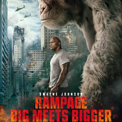 Rampage - Big Meets Bigger Poster