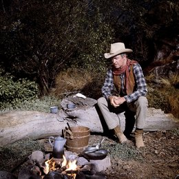 Rancho River / James Stewart Poster