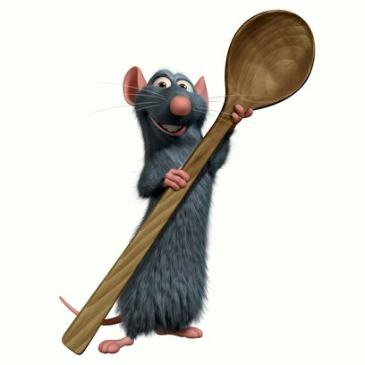Ratatouille / Ratte Remy Poster