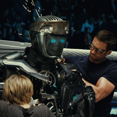 Real Steel / Dakota Goyo / Hugh Jackman Poster