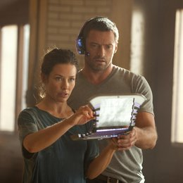 Real Steel / Evangeline Lilly / Hugh Jackman Poster