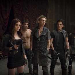 Chroniken der Unterwelt - City of Bones / Lily Collins / Robert Sheehan / Jamie Campbell Bower / Kevin Zegers / Jemima West Poster