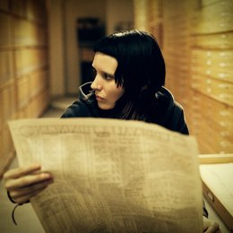 Verblendung / Rooney Mara Poster
