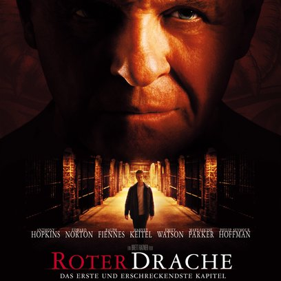 Roter Drache Poster