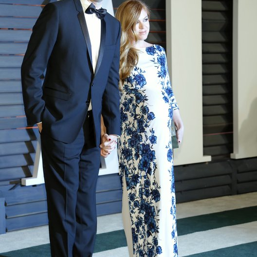 Baron Cohen, Sacha / Fisher, Isla / Vanity Fair Oscar Party 2015