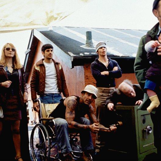 Safecrackers oder Diebe haben's schwer / Isaiah Washington / Patricia Clarkson / Andrew Davoli / George Clooney / Sam Rockwell / Michael Jeter / William H. Macy