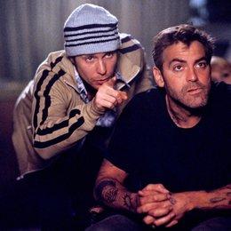 Safecrackers oder Diebe haben's schwer / Sam Rockwell / George Clooney Poster