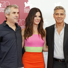 Alfonso Cuaron / Sandra Bullock / George Clooney / 70. Internationale Filmfestspiele Venedig 2013 Poster