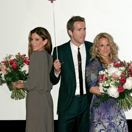 """Deutschlandpremiere von """"Selbst ist die Braut"""" in München / Sandra Bullock, Ryan Reynolds und Anne Fletcher"""