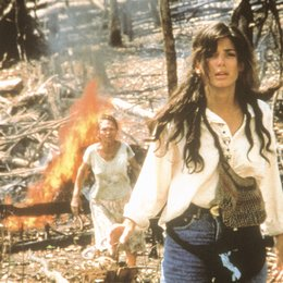 Fire on the Amazon / Sandra Bullock Poster