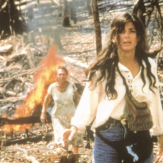 Fire on the Amazon / Sandra Bullock