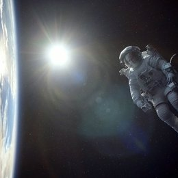 Gravity / George Clooney / Sandra Bullock Poster