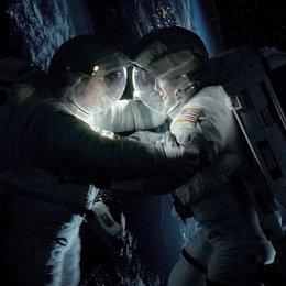 Gravity / Sandra Bullock / George Clooney Poster