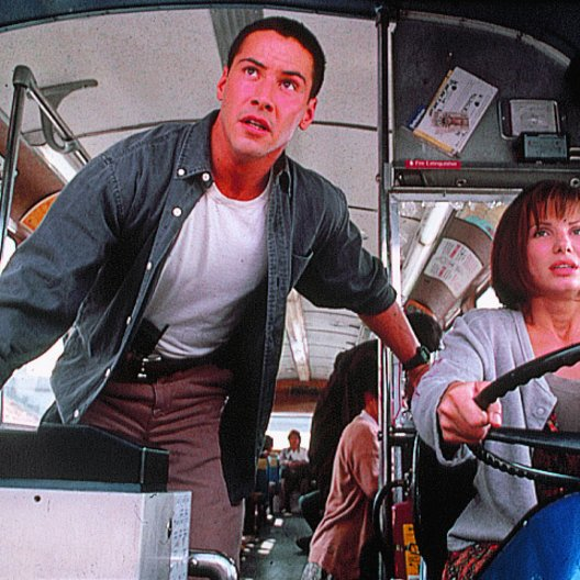 Speed / Keanu Reeves / Sandra Bullock