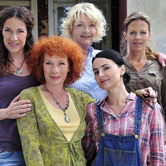 Dienstagsfrauen: Zwischen Kraut und Rüben, Die / Janna Striebeck / Clelia Sarto / Nina Hoger / Mimi Fiedler / Saskia Vester Poster