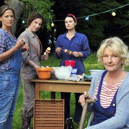 Dienstagsfrauen: Zwischen Kraut und Rüben, Die / Janna Striebeck / Clelia Sarto / Mimi Fiedler / Saskia Vester Poster