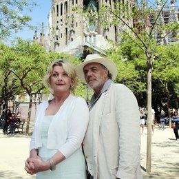 Kreuzfahrt ins Glück: Hochzeitsreise nach Barcelona (ZDF) / Saskia Vester / Christian Kohlund Poster