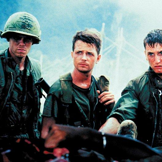 Verdammten des Krieges, Die / Michael J. Fox / Sean Penn Poster