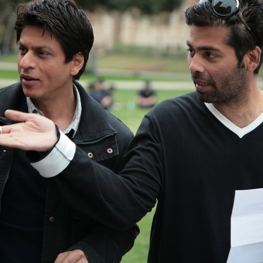My Name Is Khan / Shah Rukh Khan / Karan Johar / Set
