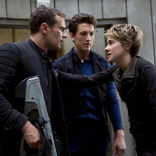 Bestimmung - Insurgent, Die / Theo James / Miles Teller / Shailene Woodley Poster