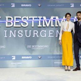 """Woodley, Shailene / James, Theo / Premiere """"Insurgent - Die Bestimmung"""", Berlin Poster"""