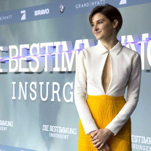 """Woodley, Shailene / Premiere """"Insurgent - Die Bestimmung"""", Berlin Poster"""