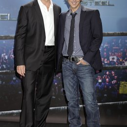 "Jackman, Hugh / Levy, Shawn / Photocall ""Real Steel"" Poster"