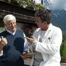 Bergdoktor: Zwei Väter, Der (ZDF / ORF) / Hans Sigl / Siegfried Rauch Poster