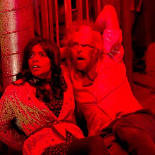 fürchterliche Furcht vor dem Fürchterlichen, Die / Amara Karan / Simon Pegg Poster