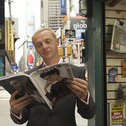New York für Anfänger / Partycrasher oder wie ich sie alle nervte, Die / Simon Pegg Poster