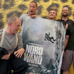 """61. Festival internazionale del film Locarno / Uraufführung von """"Nordwand"""" / Ulrich Tukur, Benno Fürmann, Florian Lukas, Philipp Stölzl und Simon Schwarz Poster"""