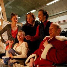 Weihnachtsengel küsst man nicht / Michael Ostrowski / Simon Schwarz / Silke Bodenbender / Alwara Höfels / Nicole Ennemoser Poster