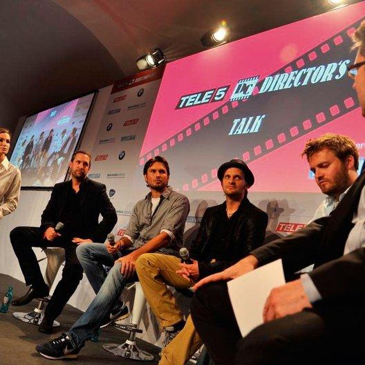 "Tele 5 ""Director's Cut"" Talk 2011 / Alexandra Kamp / Oliver Ziegenbalg / Simon Verhoeven / Markus Goller / Max Zähle / Ulrich Höcherl Poster"