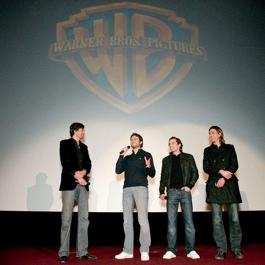 Warner Brothers-Tradeshow auf Münchner Filmwoche / Christoph Liedke, Simon Verhoeven, Quirin Berg und Max Wiedemann Poster
