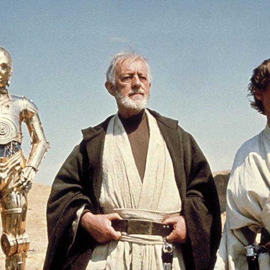 Krieg der Sterne / C-3PO / Alec Guiness / Mark Hamill / Alec Guinness / Star Wars: Episode IV - A New Hope / Star Wars: Complete Saga I-VI Poster